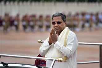 Siddaramaiah's tour comes at a time when the other two political parties—BJP and the Janata Dal (Secular)—are also taking out statewide tours. Photo: PTI