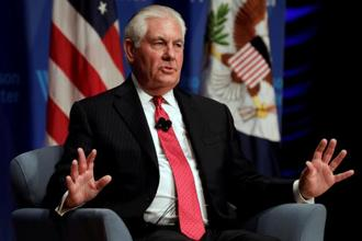 On America's relationship with China, US secretary of state Rex Tillerson said the administration now has a very active mechanism in which it can put complex issues on the table. Photo: Reuters