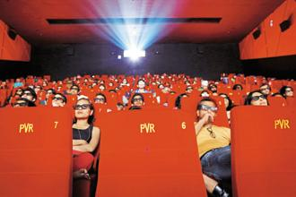 PVR is operating three 4DX screens in Delhi, Mumbai and Bengaluru and two are in the process of retrofitting in other cities by the end of this year. Photo: Reuters