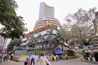 The BSE Sensex and NSE Nifty indices fell on Thursday. Photo: Hemant Mishra Mint