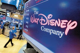 Currently, Disney operates eight children's and youth entertainment channels in India. Photo: AP