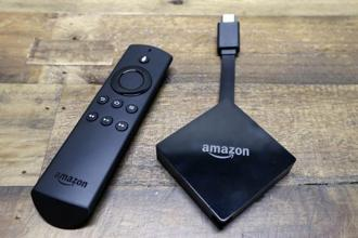 An Amazon spokeswoman said on Thursday the standard Google Chromecast video streaming stick, along with the Ultra model that can stream 4K video, will return to Amazon's online store. Photo: AP