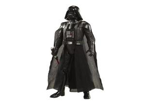 Big Figs Deluxe Darth Vader Action Figure with Lightsaber