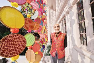 Fashion designer Manish Arora.