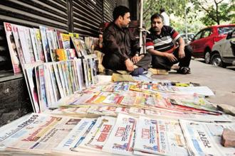 As per the report, Uttar Pradesh topped the list in the number of registered publications, followed by Maharashtra. The largest number of publications were registered in Hindi language, followed by English. Photo: Mint