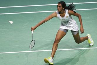 P.V. Sindhu. Photo: AP