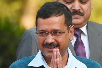 A file photo of Delhi chief minister Arvind Kejriwal. Photo: PTI