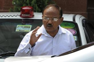 The first dialogue between China's Yang Jiechi and India's national security adviser Ajit Doval (in photo) was held after the Doklam standoff ended in September. Photo: HT