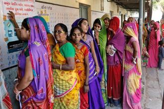 Exit polls predict a victory for BJP in both Gujarat, where it has ruled since 1998, and in Himachal Pradesh, a state where the two parties have tended to alternate in government. Photo: PTI