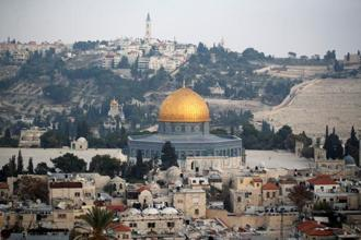 The status of Jerusalem is one of the most controversial issues in the Israeli-Palestinian conflict. Photo: Reuters