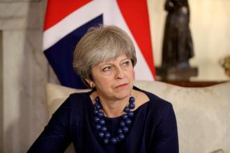A file photo of UK Prime Minister Theresa May. Photo: Reuters