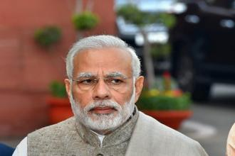 PM Modi said Mizoram had become the third power- surplus state in the north-east after Sikkim and Tripura. Photo: PTI