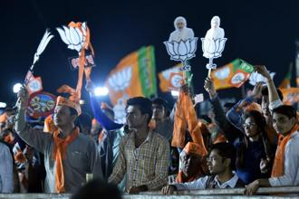 Sanjay Kakade pointed out that BJP leaders did not talk about development in any of the campaign rallies in the last phase of the Gujarat elections. Photo: AP