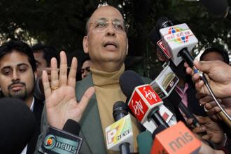 The Congress spokesperson Abhishek Singhvi said the party would support the Triple talaq bill if it was within the Supreme Court's verdict. File photo: Hindustan Times