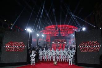 The worldwide collections of The Last Jedi, the latest instalment in the Star Wars series, in its opening weekend touched $450. Photo: AFP