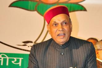 Prem Kumar Dhumal unfortunately lost his seat from Sujanpur. Photo: HT
