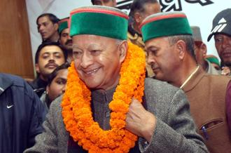 The veteran Congress leader, Virbhadra Singh, has had a long political career which began when India's first prime minister Jawaharlal Nehru was still in power. Photo: HT
