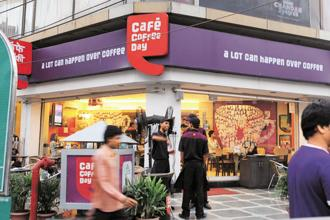 Coffee Day Enterprises, which began selling coffee grown at its plantations in Karnataka, has today expanded to a network of 1,700 Café Coffee Day outlets. Photo: Hindustan Times