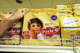 In the decades since Parle-G's launch in 1939, Parle Products has kept the brand's prices at the entry level, introduced only one premium variation, and even kept the vintage Parle girl affixed on packets. Photo: Pradeep Gaur/Mint