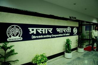 Prasar Bharati is also converting its socio-cultural channel DD India into a global English-language news channel and its current bilingual channel DD News into a full-fledged Hindi news channel. Photo: Pradeep Gaur/Mint
