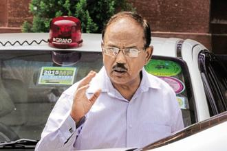 National security adviser Ajit Doval. Photo: HT