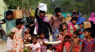 India, which is concerned about the influx of the refugees into its territory, has stressed economic development of the Rakhine region. Photo: PTI