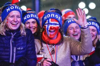 Norway's gender record has been widely discussed. Photo: AFP