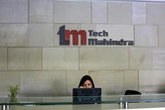 Shares of Tech Mahindra closed at Rs492.55 apiece, up marginally from its previous close on the BSE. Photo: Reuters