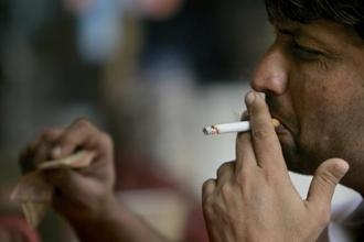 One of the major reasons of cancers of mouth and lung is tobacco consumption. Photo: Bloomberg