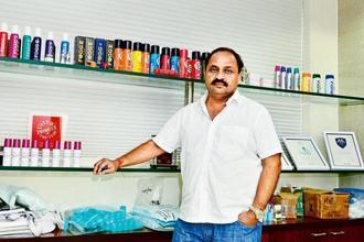 Darshan N. Patel, chairman and managing director of Vini Cosmetics. Photo: Mint
