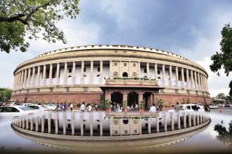 A file photo of the Parliament. Photo: HT