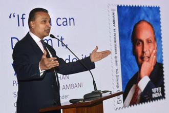 Reliance Communications (RCom) chairman Anil Ambani. The big question is how Reliance Group will look now as it exits from its flagship telecom business. The defence manufacturing business, though, is emerging as a bright point. Photo: PTI