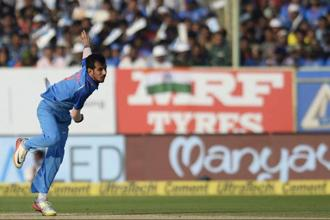 Yuzvendra Chahal had the most wickets (6 and 8) in both the ODI and T20 series against Sri Lanka. Photo: AFP
