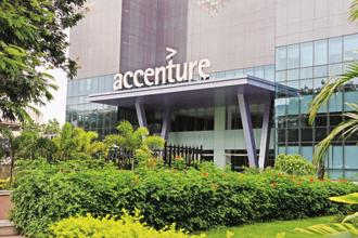 Accenture's surging revenue growth underscores the tardiness of India's largest IT companies when it comes to rebooting their traditional business model. Photo: Hemant Mishra/Mint
