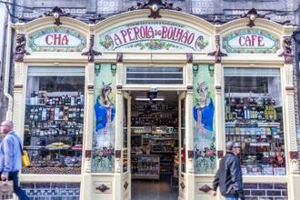A Pérola do Bolhão is a traditional shop in Porto that stocks wine, cheese, olives, olive oil and the much loved bacalhau. Photo: Rathina Sankari