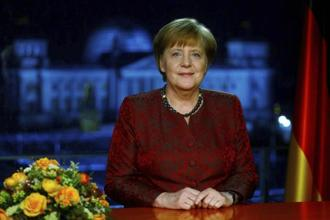 German Chancellor Angela Merkel said she's committed to forming 'a stable government for Germany without delay in the new year'. Photo: AP