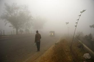 On Sunday also, the air quality index for Delhi stood at 'very poor' level (398). Photo: AP