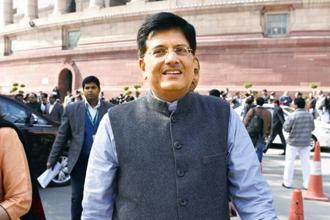 Railway minister Piyush Goyal. Photo: HT