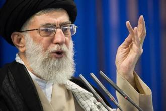 Iran's supreme leader Ayatollah Ali Khamenei  said, 'The enemy is always looking for an opportunity and any crevice to infiltrate and strike the Iranian nation.' Photo: Reuters