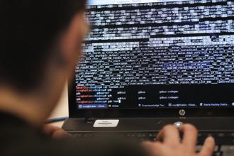 The majority of attacks from North Korean hackers in the past year have focused on financial gain rather than government secrets. Photo: AFP