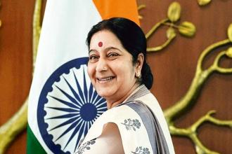 External affairs minister Sushma Swaraj. Photo: PTi