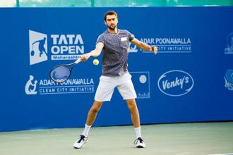 Marin Cilic is the top seed in the Tata Maharashtra Open. Photo courtesy: Tata Open Maharashtra