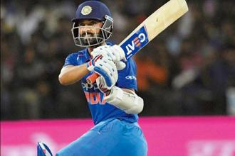 Ajinkya Rahane scored 209 runs  in two Tests on his last tour to South Africa, in 2013. Photo: PTI