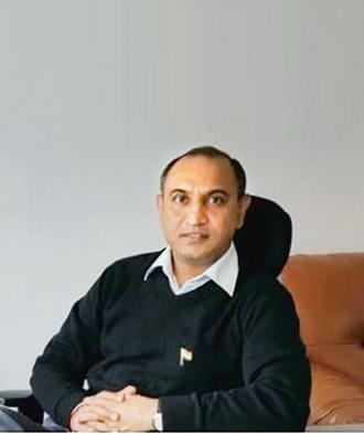 Neeraj Sharma, CEO of Indian School Finance Co. Founded in 2008, ISFC lends to private schools, affordable schools, vocational institutes and coaching classes to help them build infrastructure.