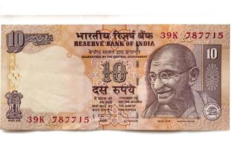 The change in design in the old Rs 10 note was last made in 2005. Photo: iStockphoto