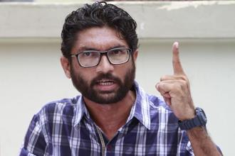 The Pune police on 4 January filed an FIR against Jignesh Mevani (above) and Umar Khalid on the basis of a complaint made by a Pune resident. File photo: HT