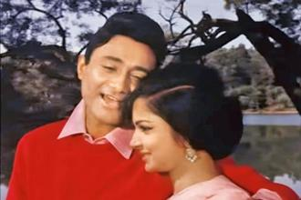 Dev Anand and Waheeda Rehman in a still from 'Guide'.