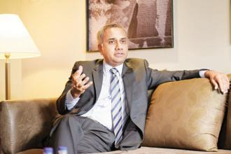 A file photo of Infosys CEO Salil Parekh. Photo: Abhijit Bhatlekar/Mint