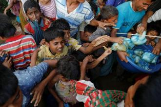 A small community of Hindus, who lived alongside the Rohingyas in Myanmar's Rakhine state, were also caught up in the turmoil. Photo: Reuters