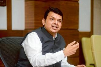 Maharashtra CM Devendra Fadnavis had handled the Maratha mobilization in 2016-17 'unexpectedly well' but this only adds to his problems, now that Dalits have taken to the streets. Photo: Abhijit Bhatlekar/Mint